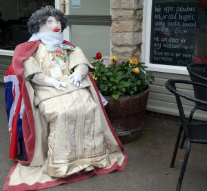 Celebrating her 90th birthday, the Queen calls in to Delicacy in Acaster Lane for a bacon buttie.